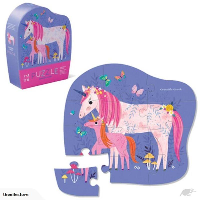 Puzzle Mini 12pc Unicorn R: 3841126 -