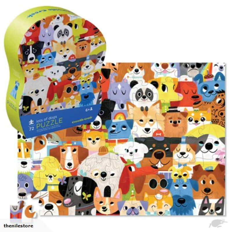PUZLLE 72PC LOTS OF DOGS R: 3842168