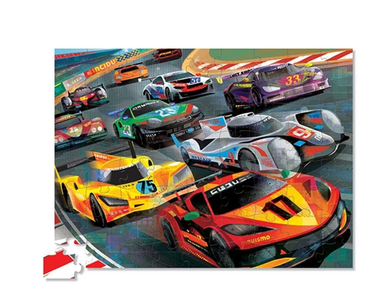 72 PC PUZZLE / AT THE RACES