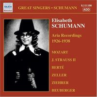 E. SCHUMANN: ARIA RECORDINGS 1926-1938