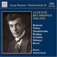 ACOUSTIC RECORDINGS 1916-1925