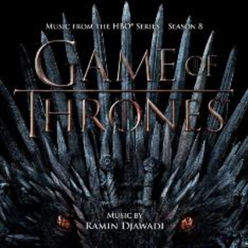 GAME OF THRONES, SEASON 8 (MUSIC FROM THE HBO SERIES) (2 CD) * RAMIN
