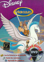 HERCULES - READ ALONG (DVD)