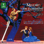 Mozart: Die Zauberflote (2 Cd) * William Christie, Les Arts Florissan - William Christie, Les Mozart