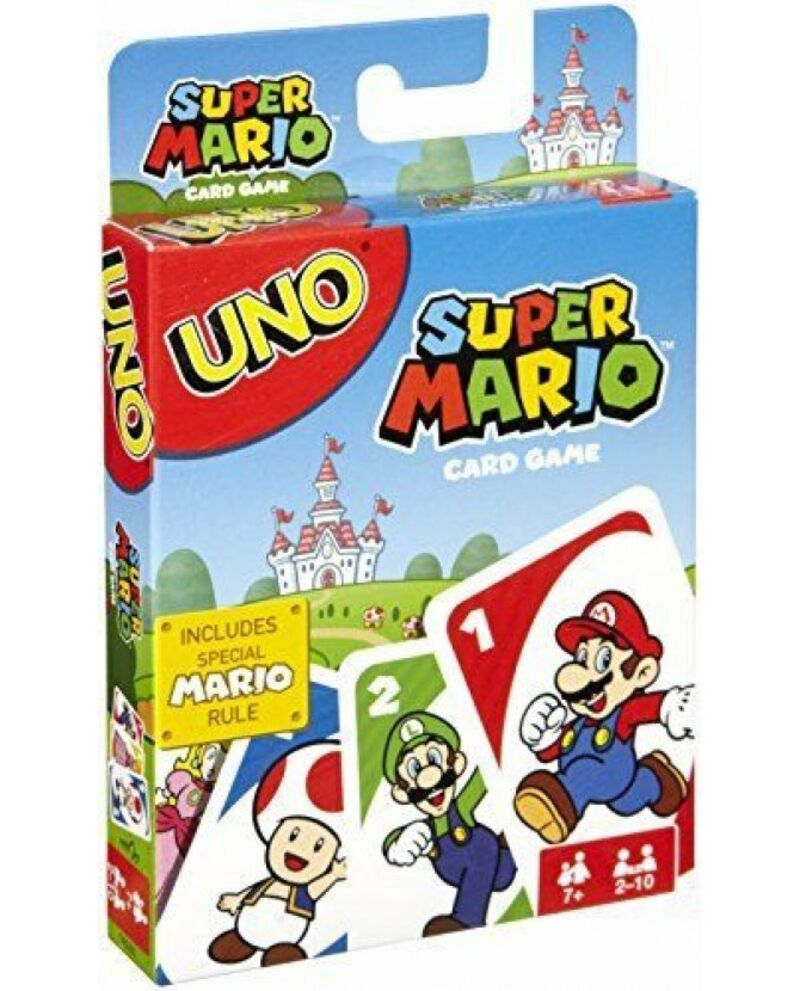 CARTAS UNO SUPER MARIO BROS