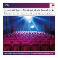 THE GREAT MOVIE SOUNDTRACKS (4 CD)