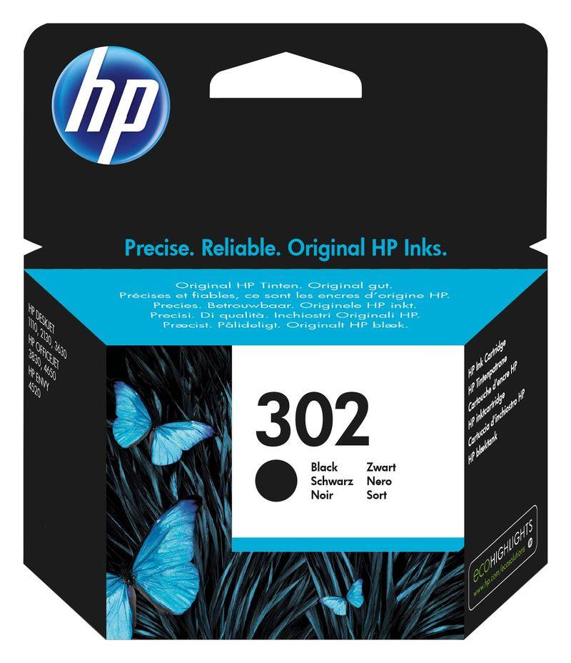 CARTUCHO HP Nº302 NEGRO F6U66AE R: 946469