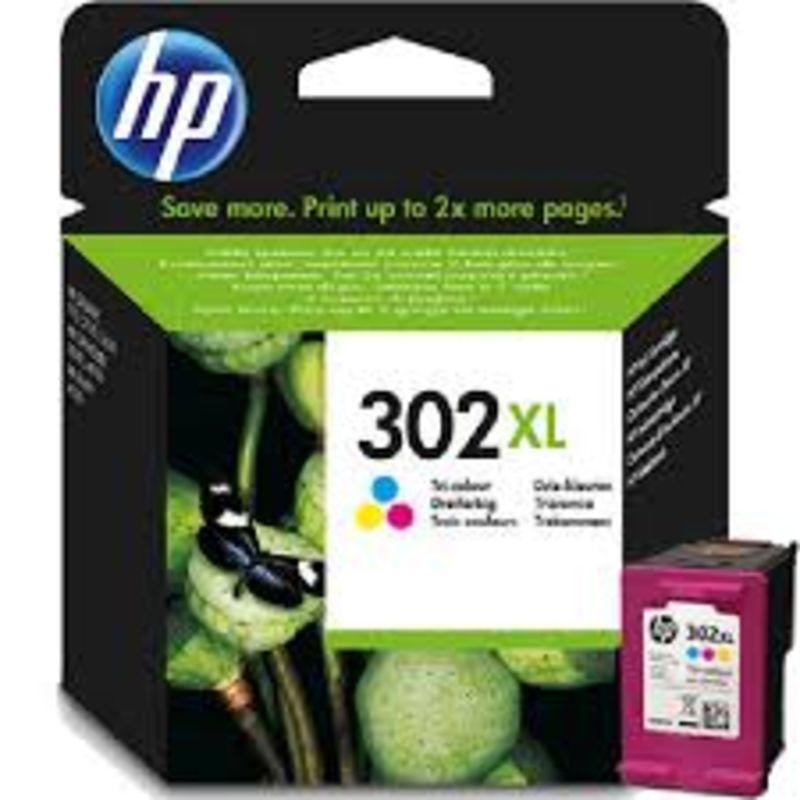 CARTUCHO HP Nº302XL TRICOLOR F6U67AE R: 946472