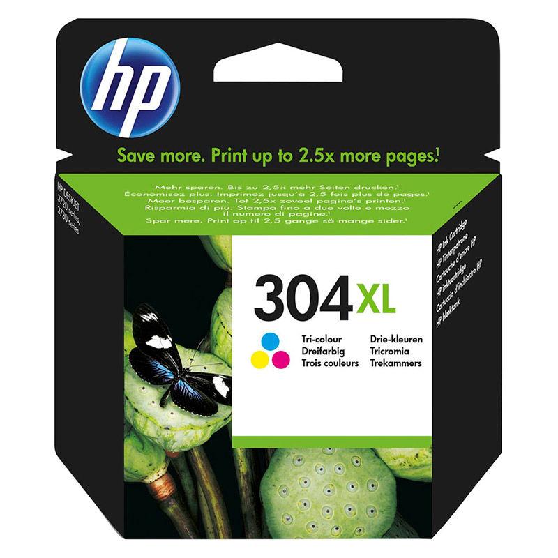HP CARTUCHO TRICOLOR (C / M / A) Nº304XL R: N9K07AE