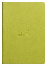 RHODIARAMA * BLOC GRAPADO TEXTIL ANIS A5 L 64p 90g R: 116406C