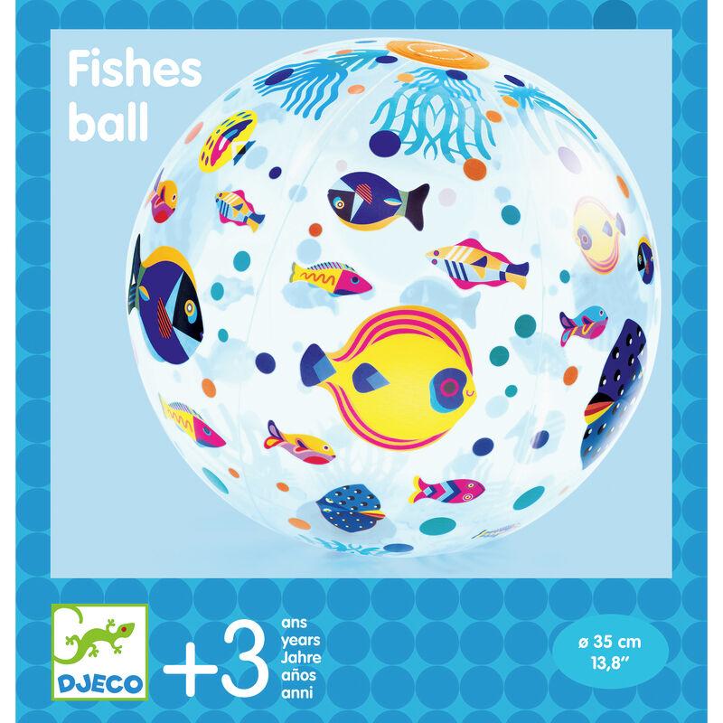 juego habilidad pelota fishes ø 35 cm -