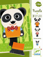 PUZZLE 3 NIVELES - FAMILIA PANDA R: 31471