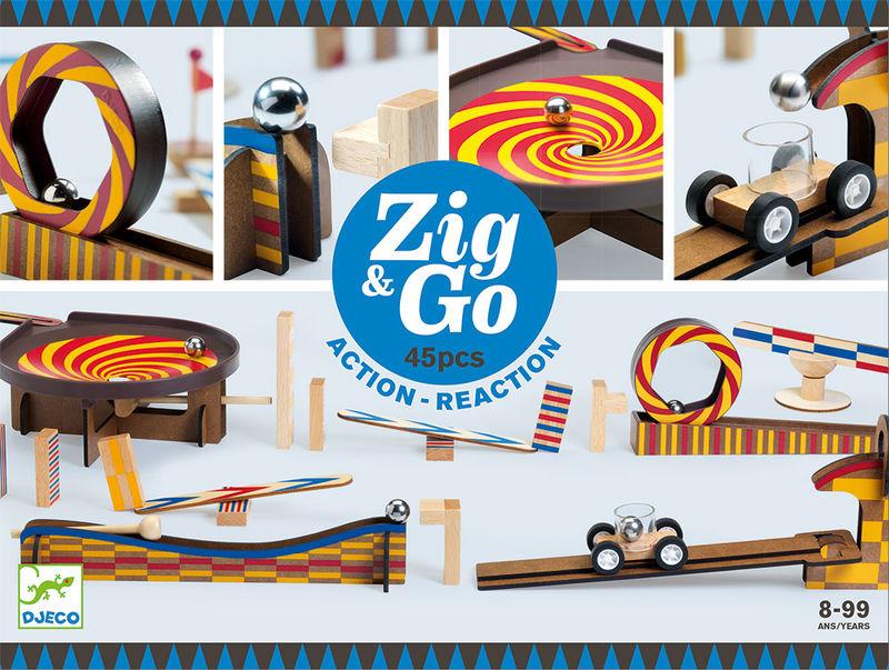Construccion Zig & Go 45pcs -