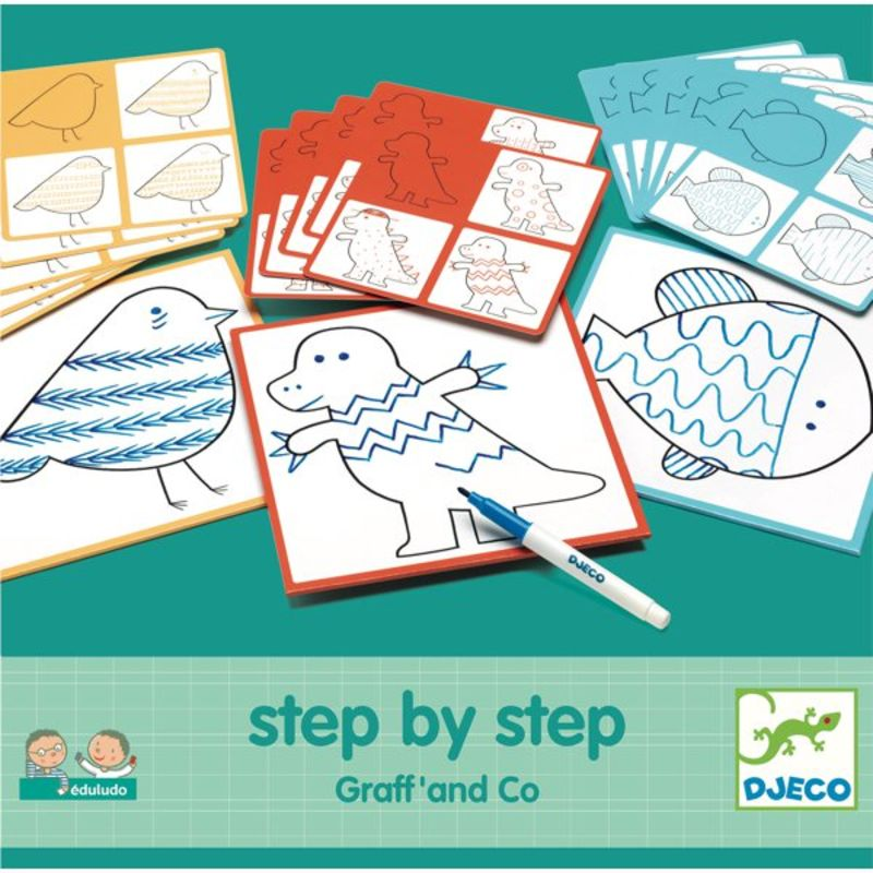 EDULUDO STEP BY STEP GRAFF AND CO