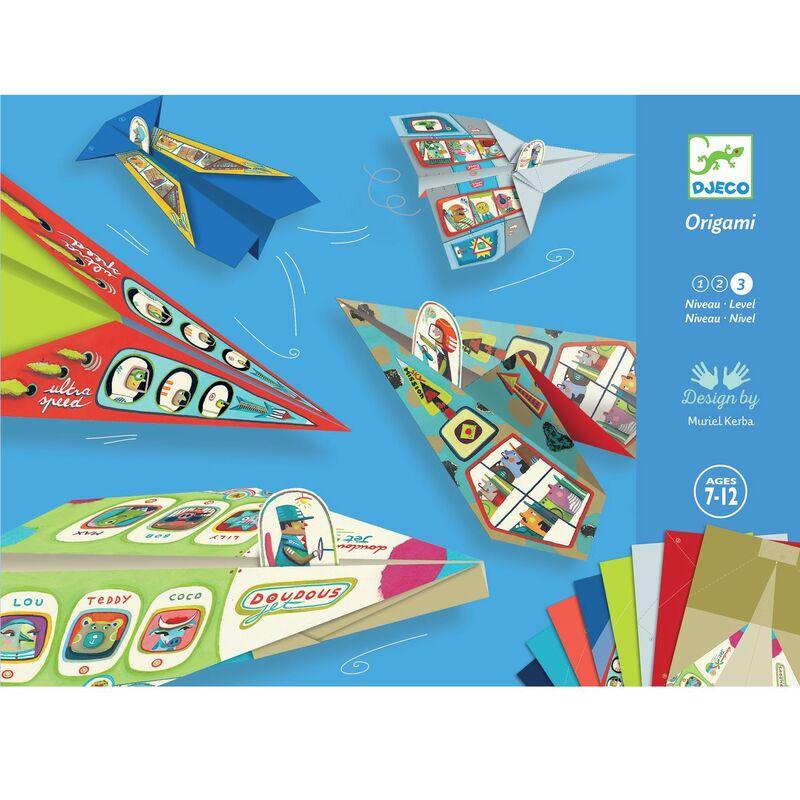 PAPIROFLEXIA ORIGAMI AVIONES R: 38760