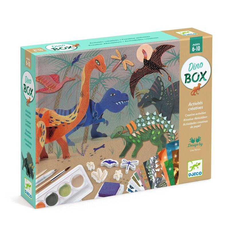 cofre multiactividades * el mundo de los dinosaurios -
