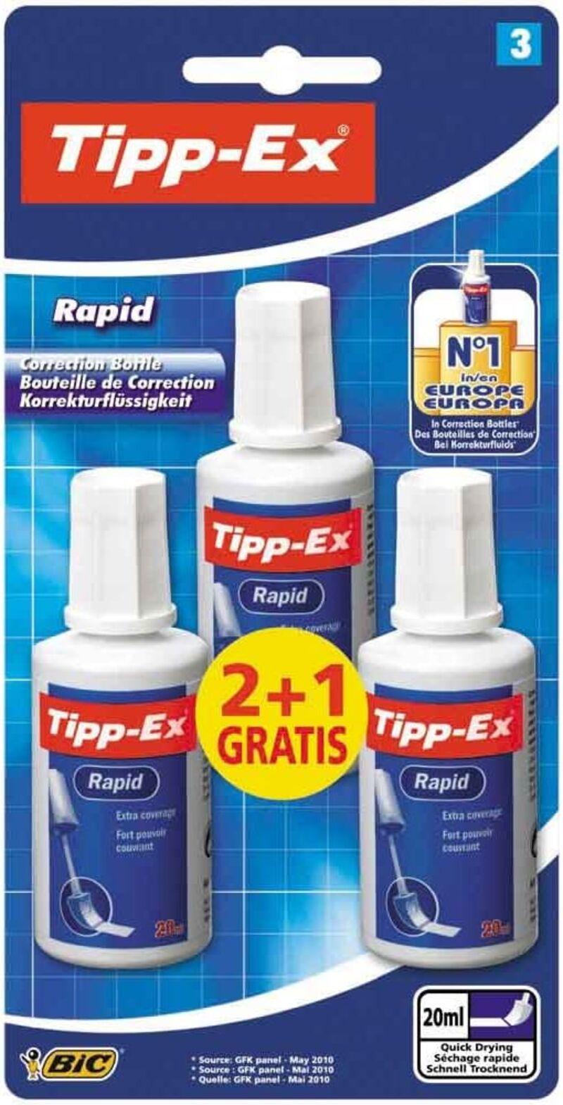 BLISTER TIPP EX RAPID BL2+1 EFSP EU - 8871671
