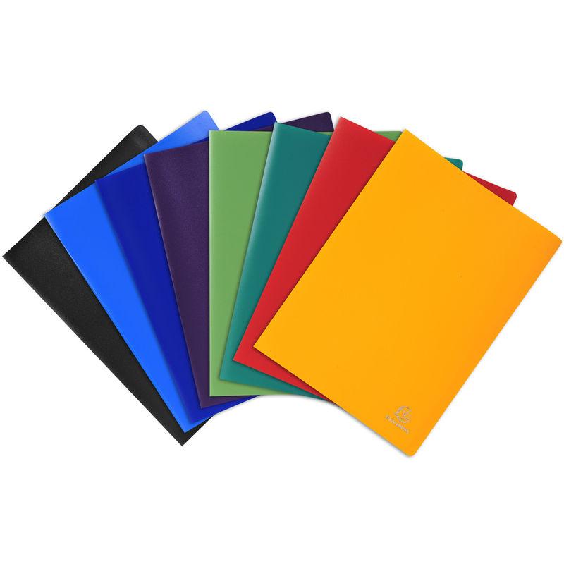 Carpeta A4 80 Fundas Pp Opaco 8 Colores Surtidos R: 8580e -