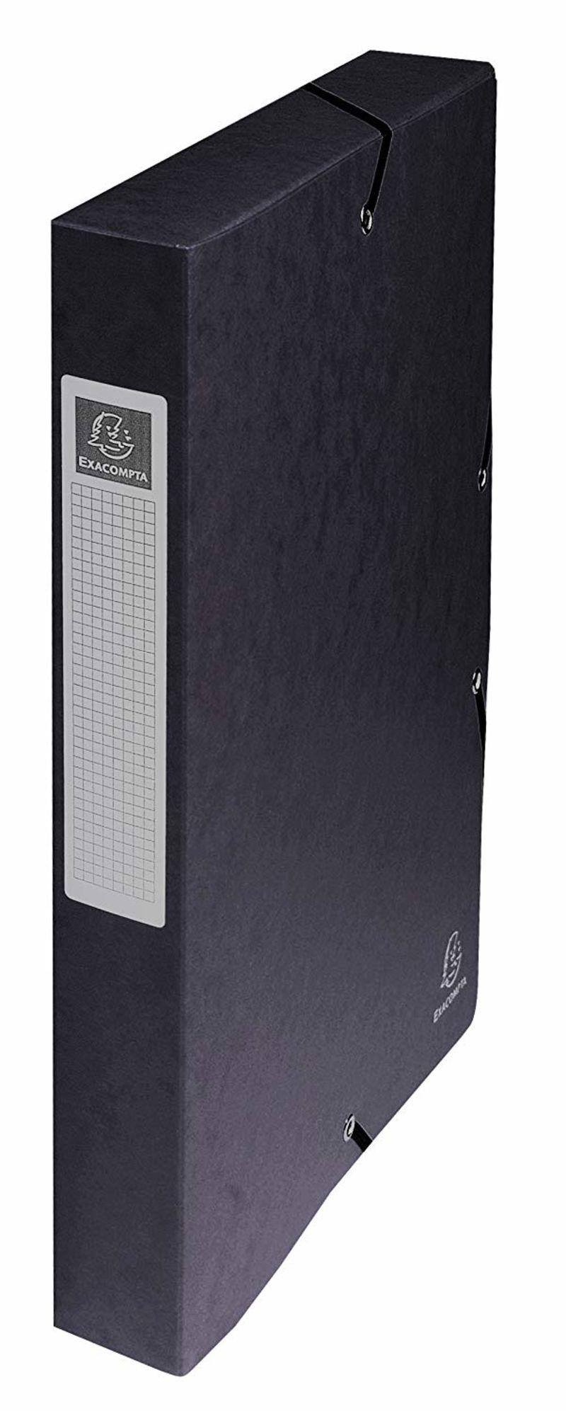 Carpeta Proyectos A4 Negra 40mm Cartulina Lustrada R: 50401e -