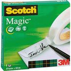 CINTA SCOTCH MAGIC 810 19x66 INVISIBLE CAJA INDIVIDUAL