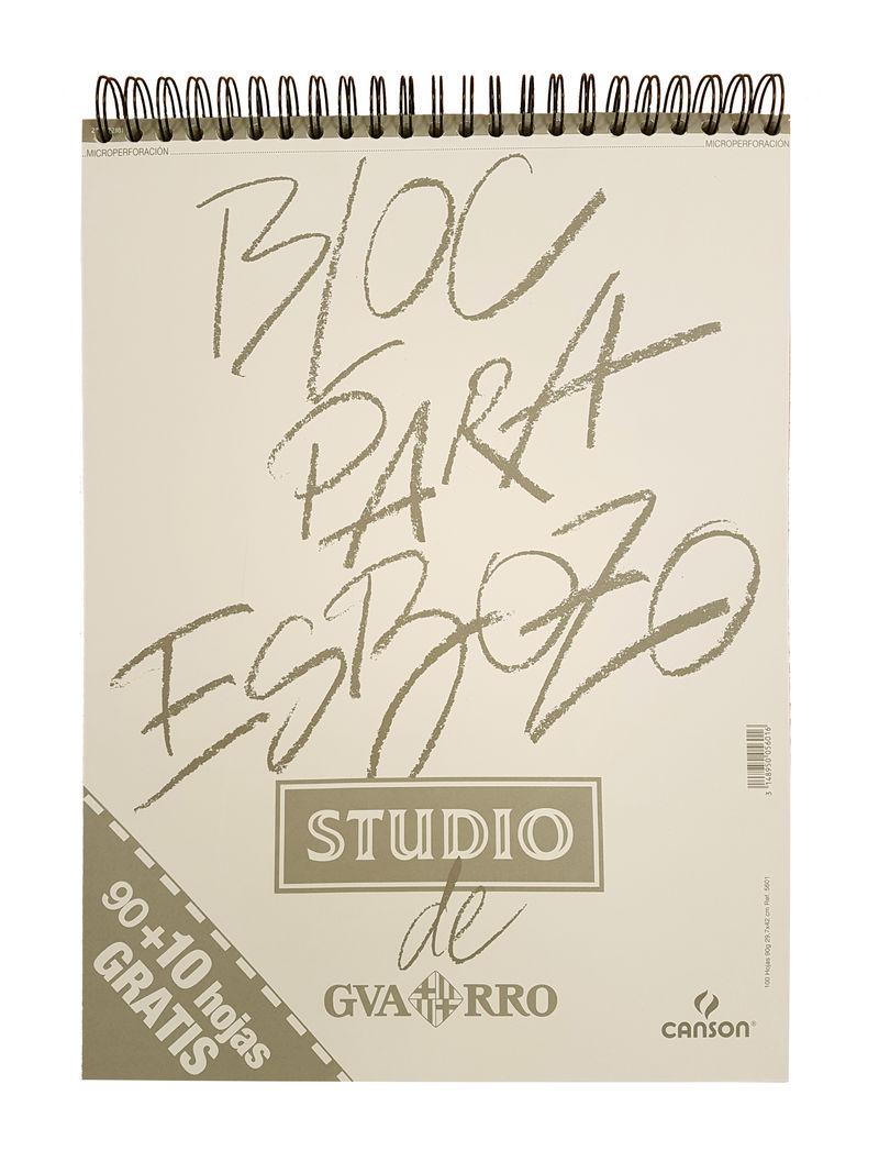 BLOC ESBOZO A3 90 GR 90 + 10H. R: 200005601