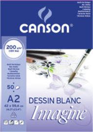 BLOC CANIMAGINE 50H A4 200G R: 200006008