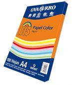 Paq / 100h A4 Iris 80gr Naranja R: 400032522 -
