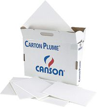 CARTON PLUMA CLASSIC 50x70 BLANCO 3mm R: 205154401