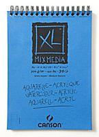BLOC ESP. MICROP. A4 30H CANSON XL MIX MEDIA 300GR R: 200807215