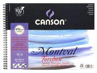 BLOC ACUAREL MONTVAL 24X32 270GRA GRANO GRUESO R: 200807771