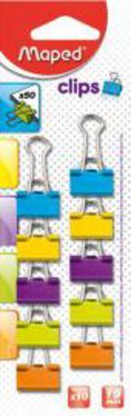 Blis / 10 Pinzas 19mm Colores R: 036102 -
