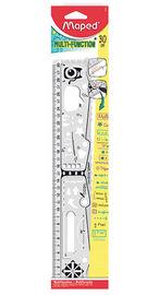 REGLA 30cm GEO NOTES R: 250310