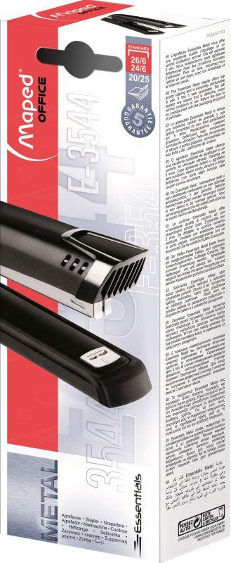 Grapadora Full Strip Essential Metal Grapas 24 / 6 26 / 6 -