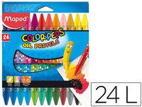 C / 24 Ceras Pastel Oleo Colorpeps R: 864012 -