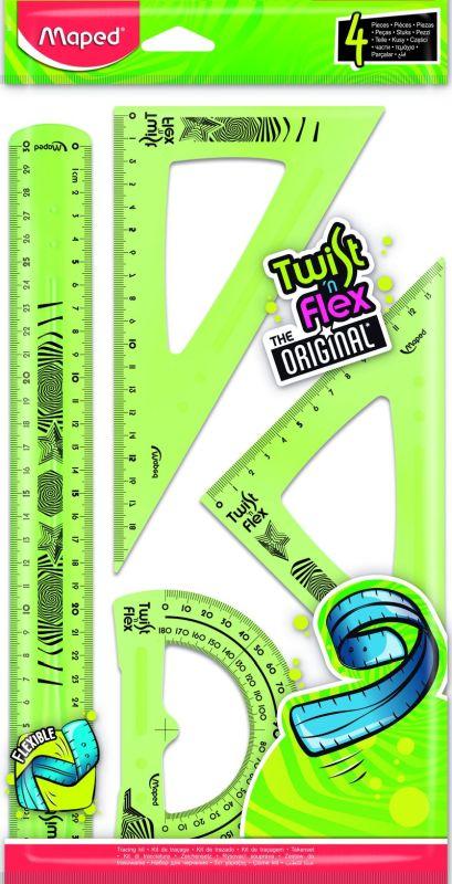 Kit Trazado 4 Piezas (regla / Escuad / Cart / Transp) 30cm R: 897157 -