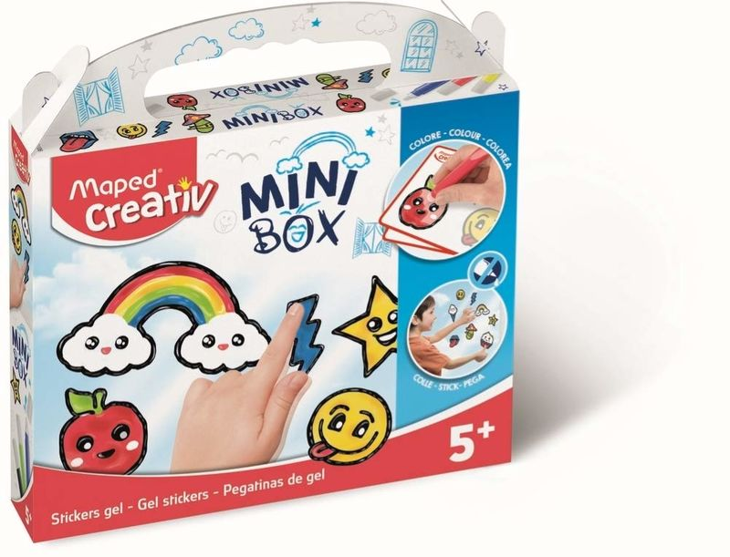 Mini Box Pegatinas De Gel R: 907012 -
