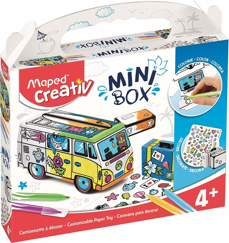 MINI BOX CARAVANA PARA DECORAR R: 907017