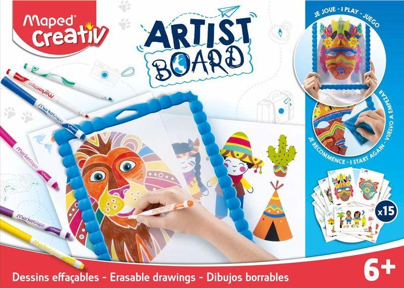 ARTIST BOARD DIBUJOS BORRABLES R: 907101