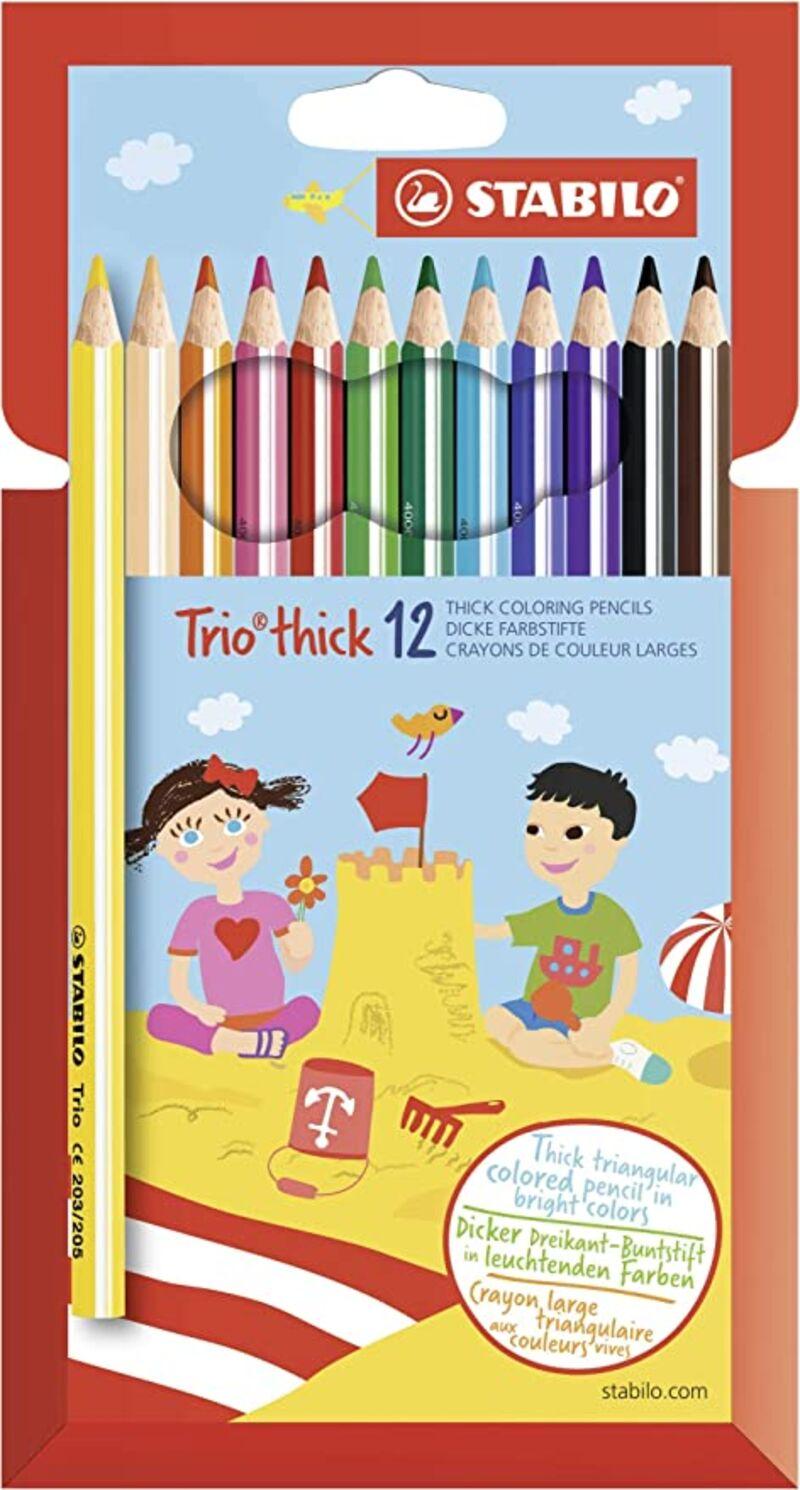 ESTUCHE 12 STABILO TRIO GRUESO SURTIDO R: 2031201