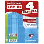 Lote 4 Cuadernos 17x22 48h Seyes R: 646741c -
