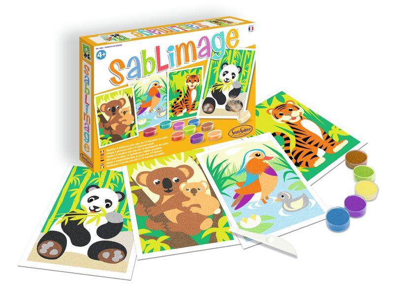 SABLIMAGE ANIMALES EN PELIGRO R: 0758805