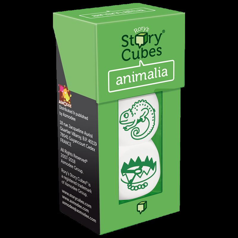 STORY CUBES ML ANIMALIA