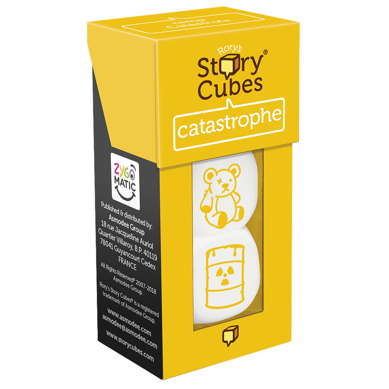 STORY CUBES CATASTROFES