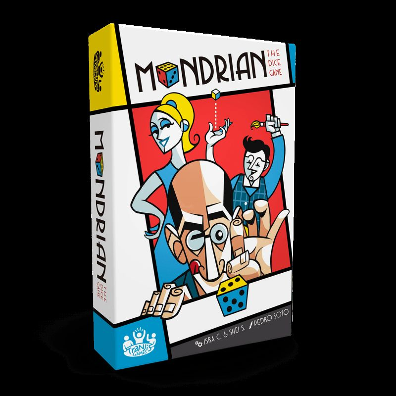 MONDRIAN THE DICE GAME