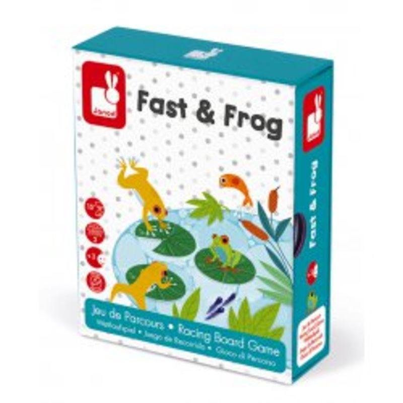 Juego De Recorrido Fast & Frog -