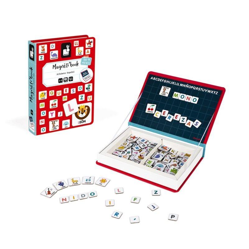 magnetibook alfabeto español -