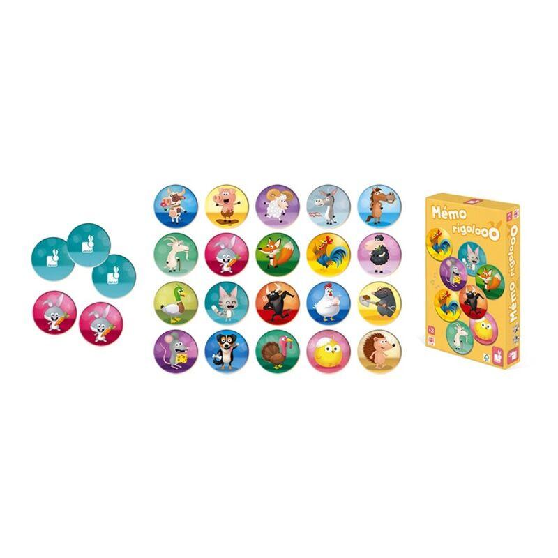 """JUEGO DE MEMORIA """"MEMO RIGOLOOO"""""""