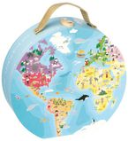 Maleta Puzzle 208 Piezas Niños Y Animales Del Mundo R: 08502926 -