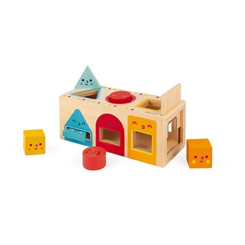 Caja Con Formas Geometricas -