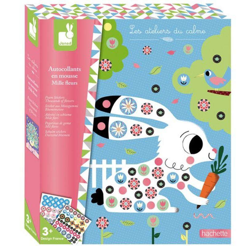 Stickers De Goma Mil Flores -